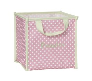 Collapsible Storage, Pink Dot
