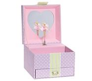 Lavender Dot Sadie Jewelry Box, Small