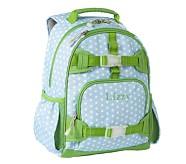 Mackenzie Blue Dot Small Backpack