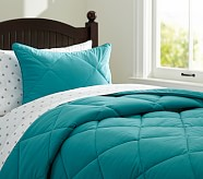 Cozy Comforter, Twin, Teal