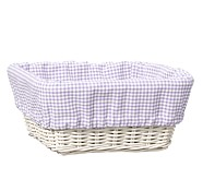 Lavender Gingham Sabrina Liner, Medium