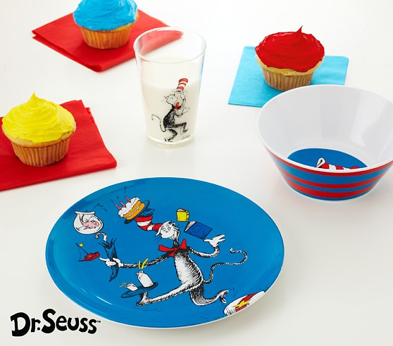 Dr. Seuss™ Tabletop Set, Set Includes: Plate, Cup, & Bowl