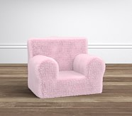 Pink Fur My First Anywhere Chair®