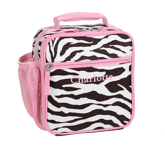 Mackenzie Chocolate Zebra Classic Lunch Bag
