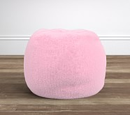 Pink Fur Anywhere Beanbag®