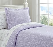 Medallion Duvet Cover, Twin