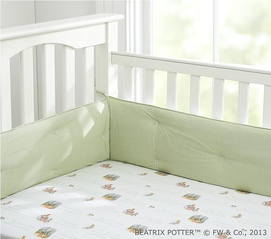 Organic Peter Rabbit™ Crib Fitted Sheet