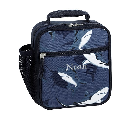 Mackenzie Blue Shark Classic Lunch Bag