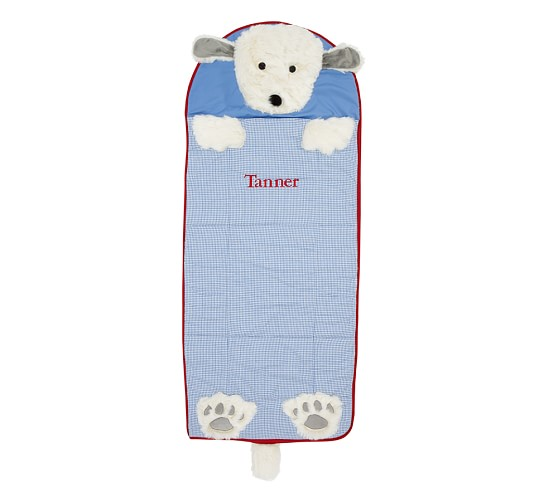 Animal Toddler Sleeping Bag, Blue
