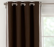 "Canvas Trim Blackout Panel 44 x 63"" Brown"