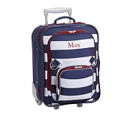 Small Luggage, Fairfax Navy/White Stripe