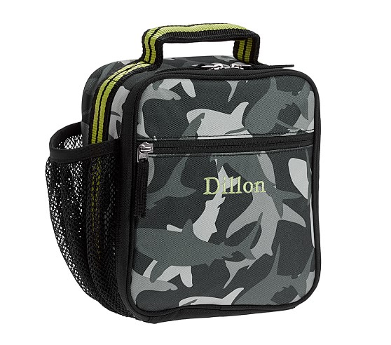 Classic Lunch Bag, Mackenzie Gray Shark Camo