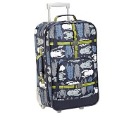 Mackenzie Blue Bug Large Luggage