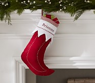 Elf Quilted Stocking