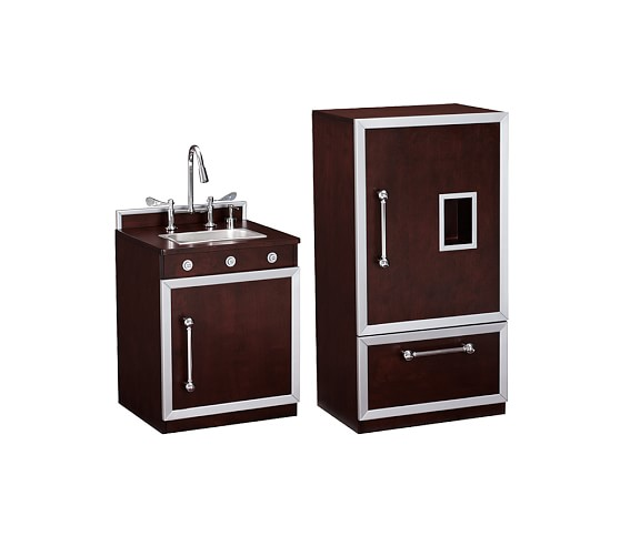 Gourmet Kitchen: Sink, & Refrigerator Set