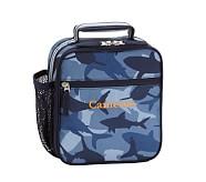 Classic Lunch Bag, Mackenzie Navy Shark Camo