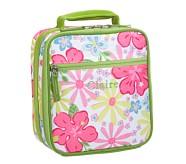 Mackenzie Pink Hibiscus Classic Lunch Bag