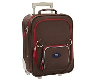 Fairfax Chocolate/Red Small Luggage, Football