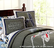 <em>Star Wars</em>&#8482; x-wing &#38; TIE Fighter&#8482; Quilt, Twin