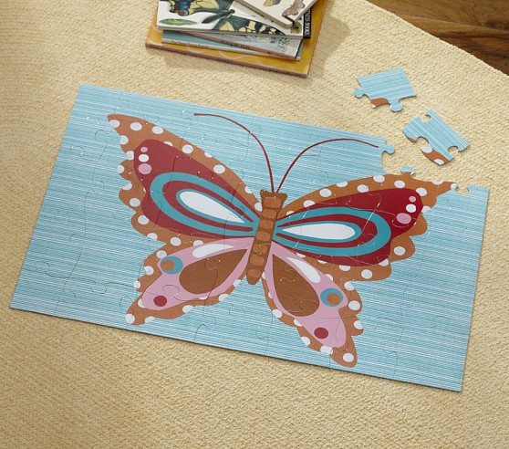 Butterfly Floor Puzzle