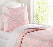 Claire Quilt, Twin, Pink