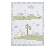Jungle Friends Nursery, Quilt