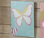 Turquoise Butterfly Plaque