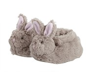 Bunny Nursery Fur Animal Slippers