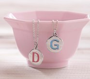 Alphabet Necklace, Pink