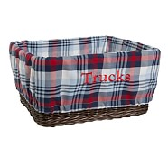 Plaid Liner, XL, Navy/Red Plaid