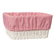 XL Gingham Liner, Red