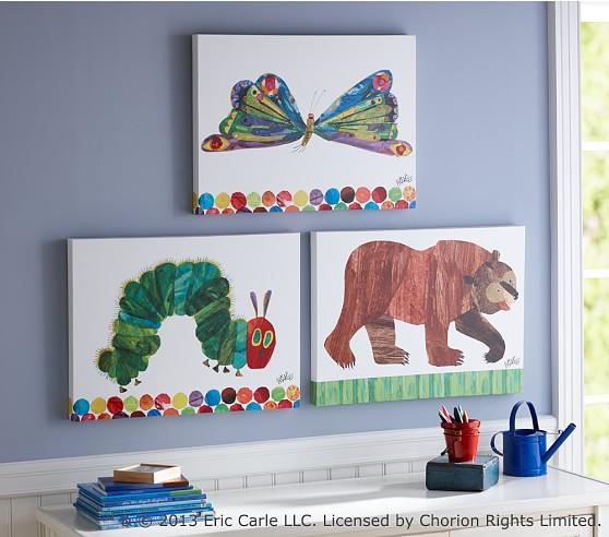The Very Hungry Caterpillar™ Bear Wall Art