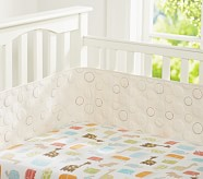 Organic Safari Crib Fitted Sheet