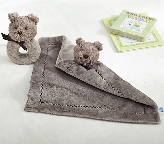 Bear Plush Rattle