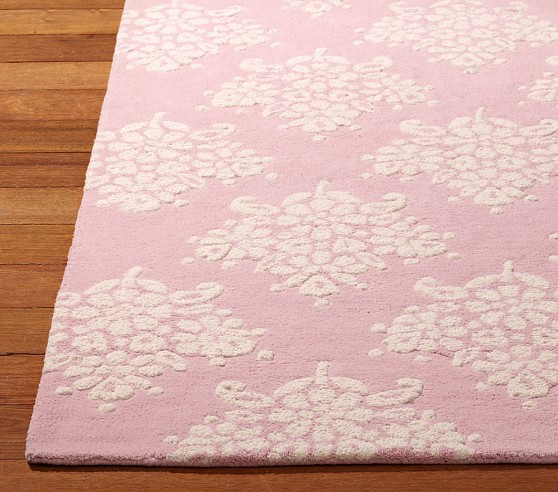 Floral Bouquet Rug 3x5' Pink