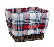 Plaid Liner, Large, Navy/Red Plaid