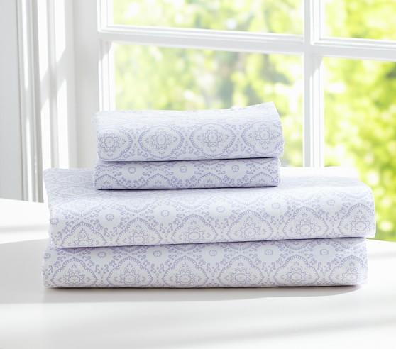 Tory Sheet Set, Lavender, Twin