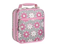 Mackenzie Pink Daisy Classic Lunch Bag