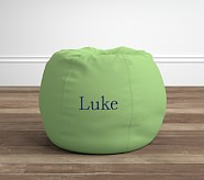 Anywhere Beanbag® Insert & Slipcover Set, Grass Green Twill