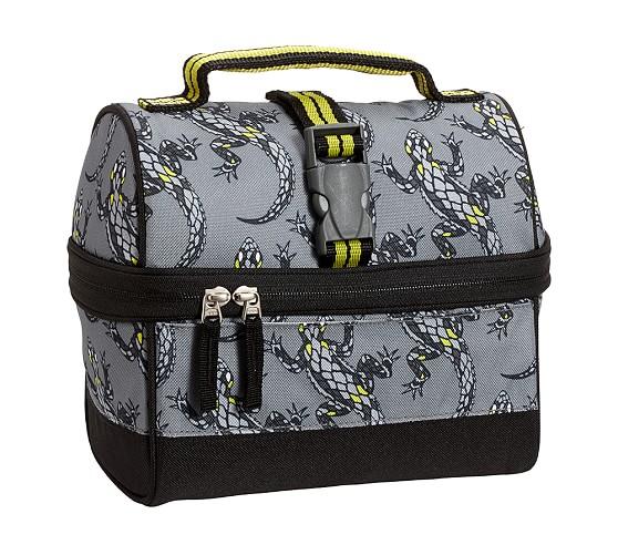Mackenzie Gray Gecko Retro Lunch Bag