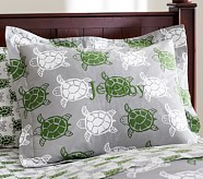 Preppy Turtle Standard Sham