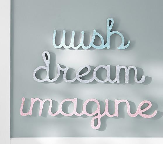 Cursive Word Decor, Dream