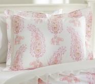 Elyse Standard Sham, Pink/Coral