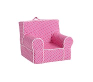 My First Anywhere Chair® Slipcover Only, Bright Pink Mini Dot