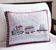 Logan Nursery Small Quilted Sham