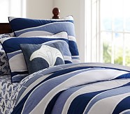 Coastal Wave Quilt, Twin
