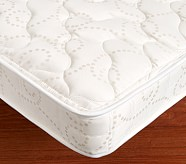 Bunk Plush Mattress Set of Two, Twin/Twin