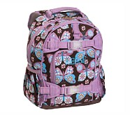 Mackenzie Lavender Butterfly Backpack, Small