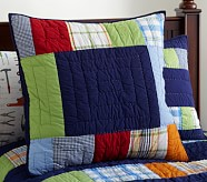 Aaron Euro Quilted Sham