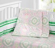 Claudia Medallion Quilt, Bright Green